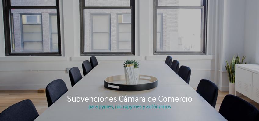 Subvenciones TIC Cámara para pymes y autónomos ofrecidas por la Cámara de Comercio