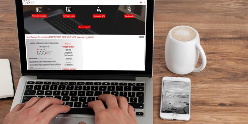 Plataforma ESS de Vodafone diseñada por be beyond