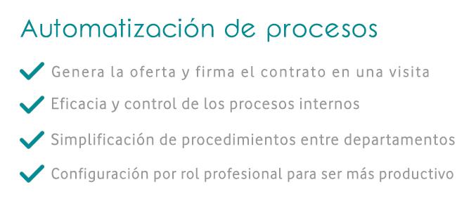 Automatización de procesos con un CRM