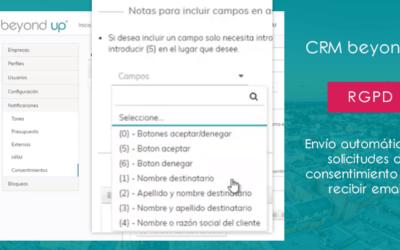 Cómo enviar correos masivos con un CRM cumpliendo con el RGPD
