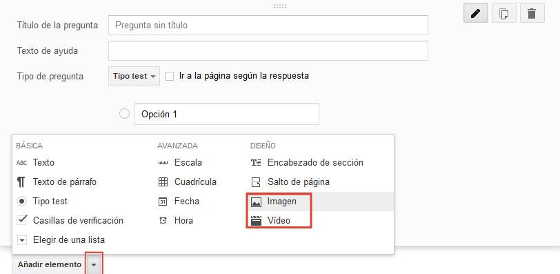 crear_formulario_encuesta_google_apps_anadir_elemento_foto_video